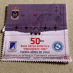 Estampilla en Correos de Chile en Antártica