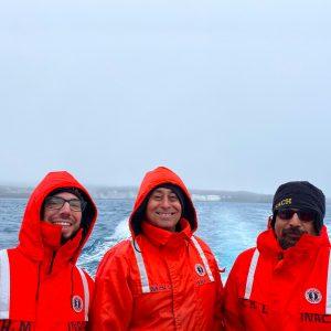 Navegación para estudio de peces