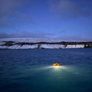Trampa de luz en el Océano Austral
